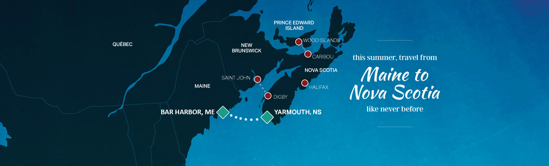 maine to nova scotia map revised